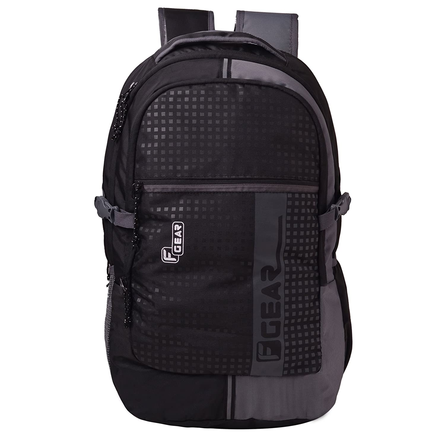 F Gear Blow Laptop Backpack 32 Liters (Black,Grey)