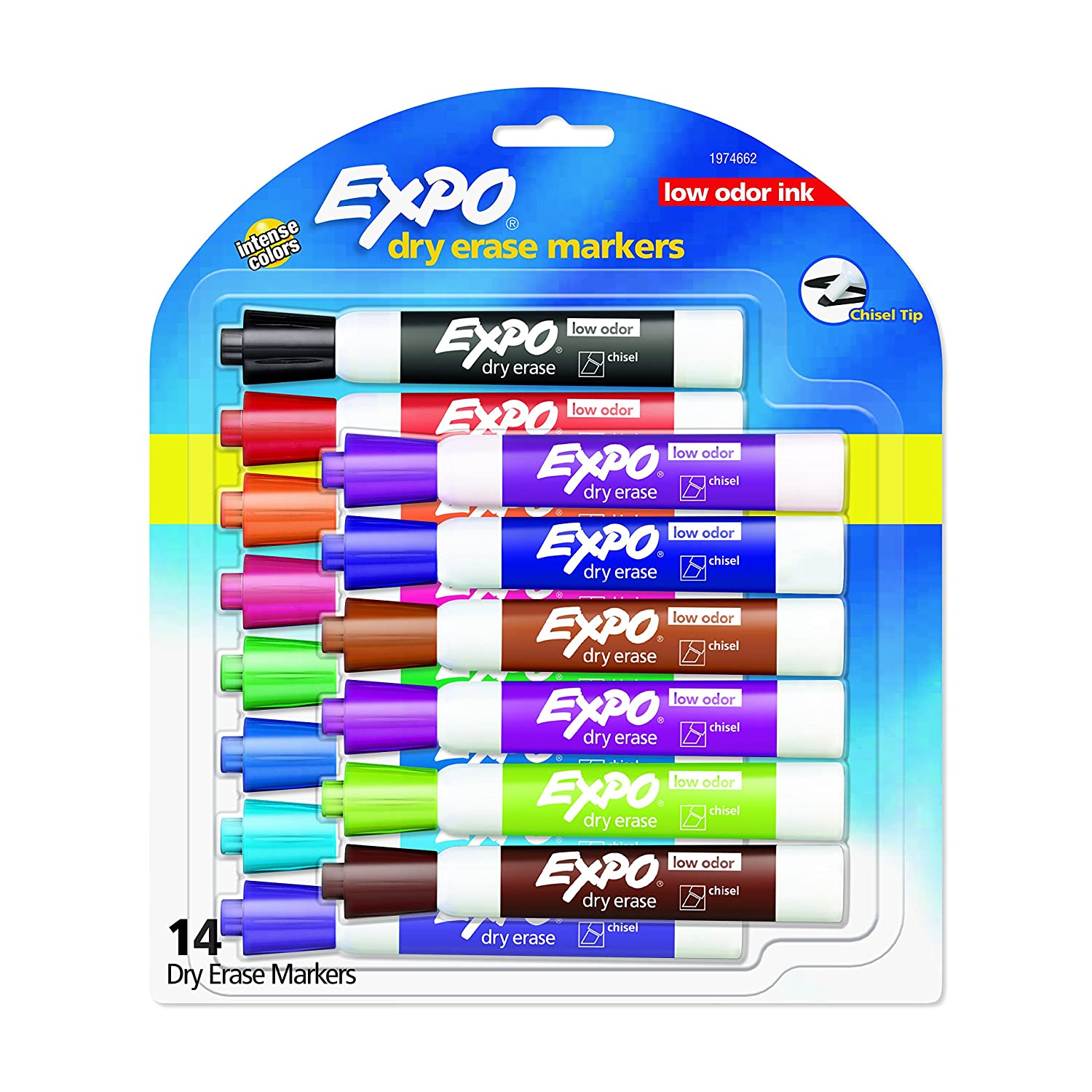 Expo Dry Erase 14-Count Marker...
