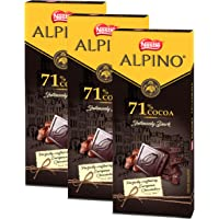Nestle ALPINO 71% Cocoa - Intensely Dark Chocolate 90gm - (Pack of 3)