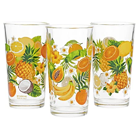 9dc6a2952b1 Cerve Tropic Drinking Glasses