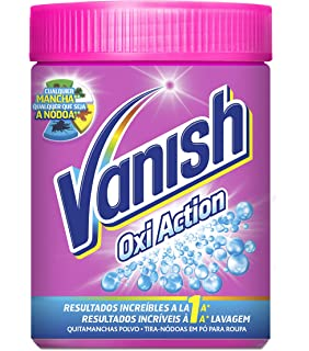 Vanish Oxiaction Pink Powder Detergente en Polvo - 1 Kg