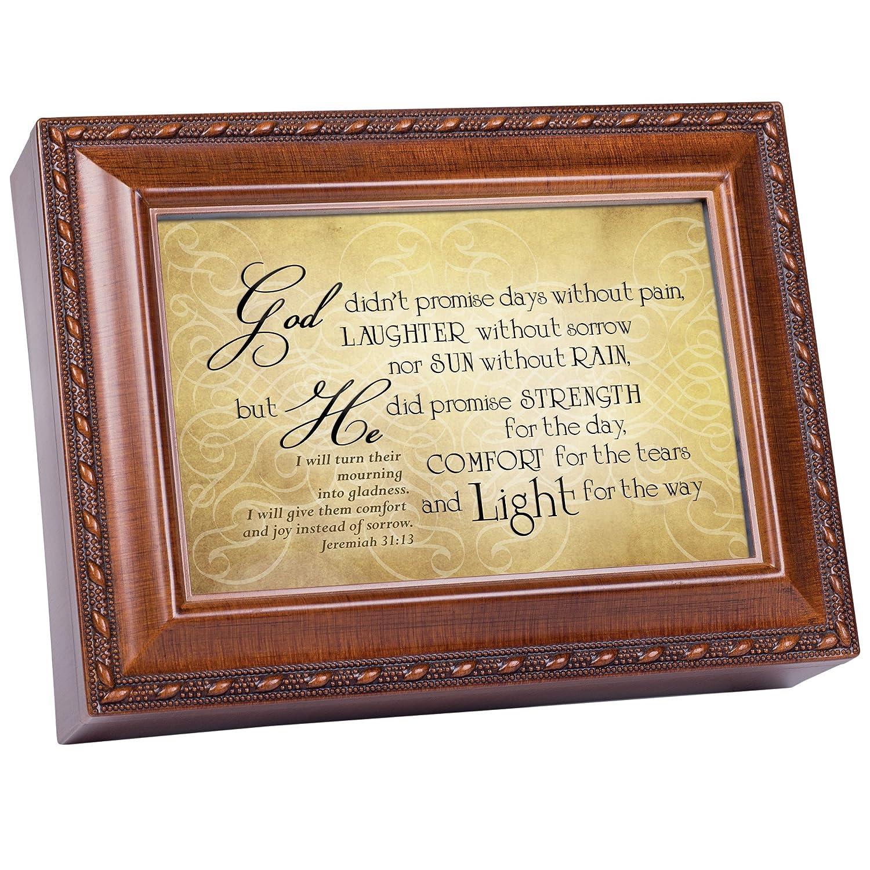 2018セール God Did約束強度快適木製仕上げジュエリー音楽ボックスPlays Thou How Great Great Thou Art Art B01M6ZZBNN, 豊貿易:2e761489 --- arcego.dominiotemporario.com