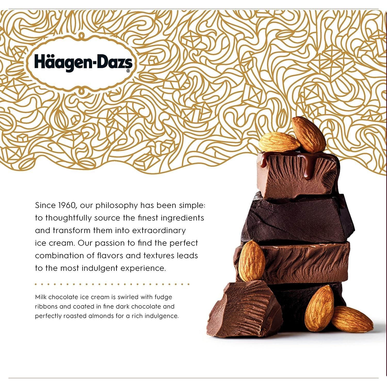 Haagen-Dazs, Chocolate Dark Chocolate Almond Ice Cream Bars ...