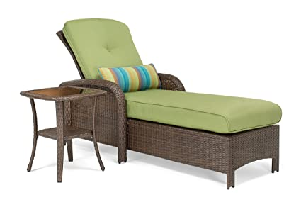 La Z Boy Outdoor Sawyer 2 Piece Patio Furniture Chaise Bundle (outdoor  Chaise
