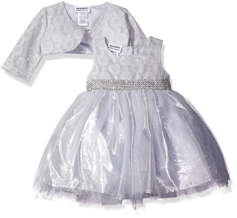 Amazon Blueberi Boulevard Baby Girls Sparkle Jacket Dress