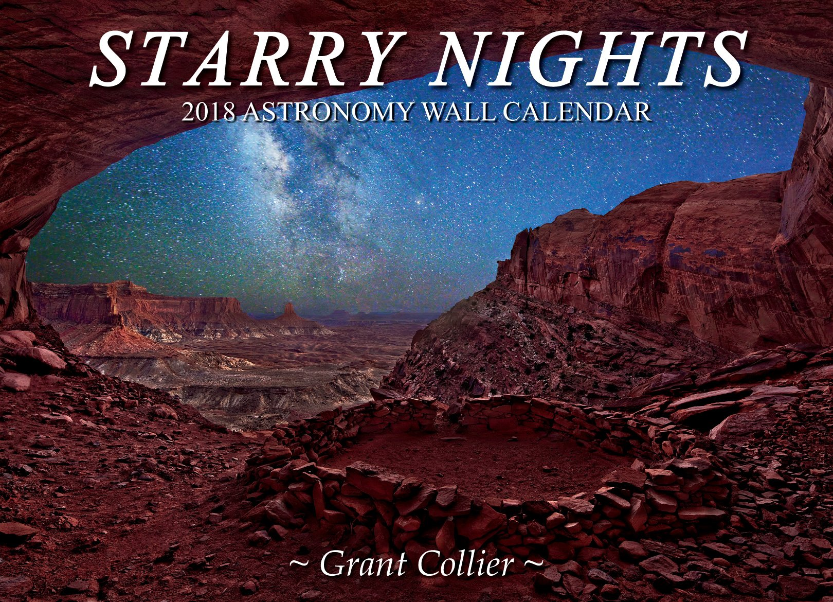 Starry Nights 2018 Astronomy Wall Calendar (13.5