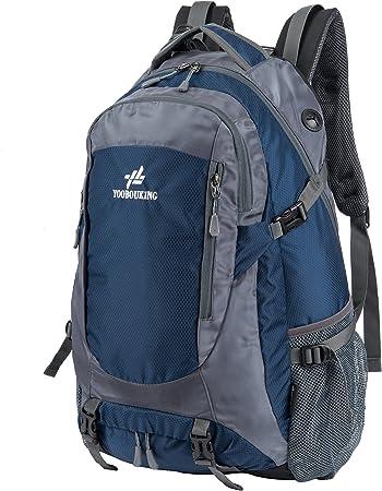 huntvp 45 – 50L mochila de viaje mochila Camping mochila senderismo mochilero para repelente al agua al aire libre escalada montañismo ciclismo ...