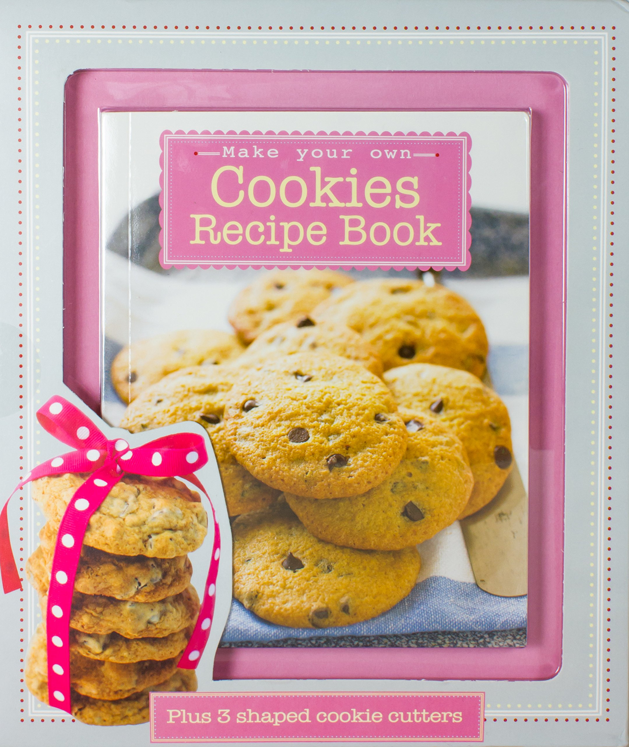 Make your own cookies kit with fantastic recipe book plus 3 shaped make your own cookies kit with fantastic recipe book plus 3 shaped cookie cutters box parragon books love food editors 9781781864050 amazon solutioingenieria Image collections