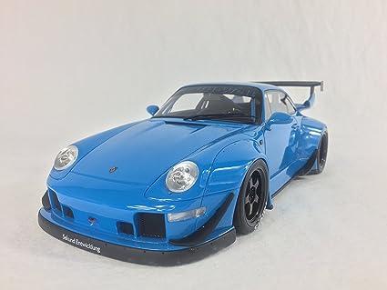 Porsche 911 (993) RWB, blue, 0, Model Car, Ready-