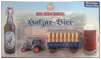 El Ciervo Bräu nº – holzar cerveza – Tractor IFA Pionier – Tractor con colgador &