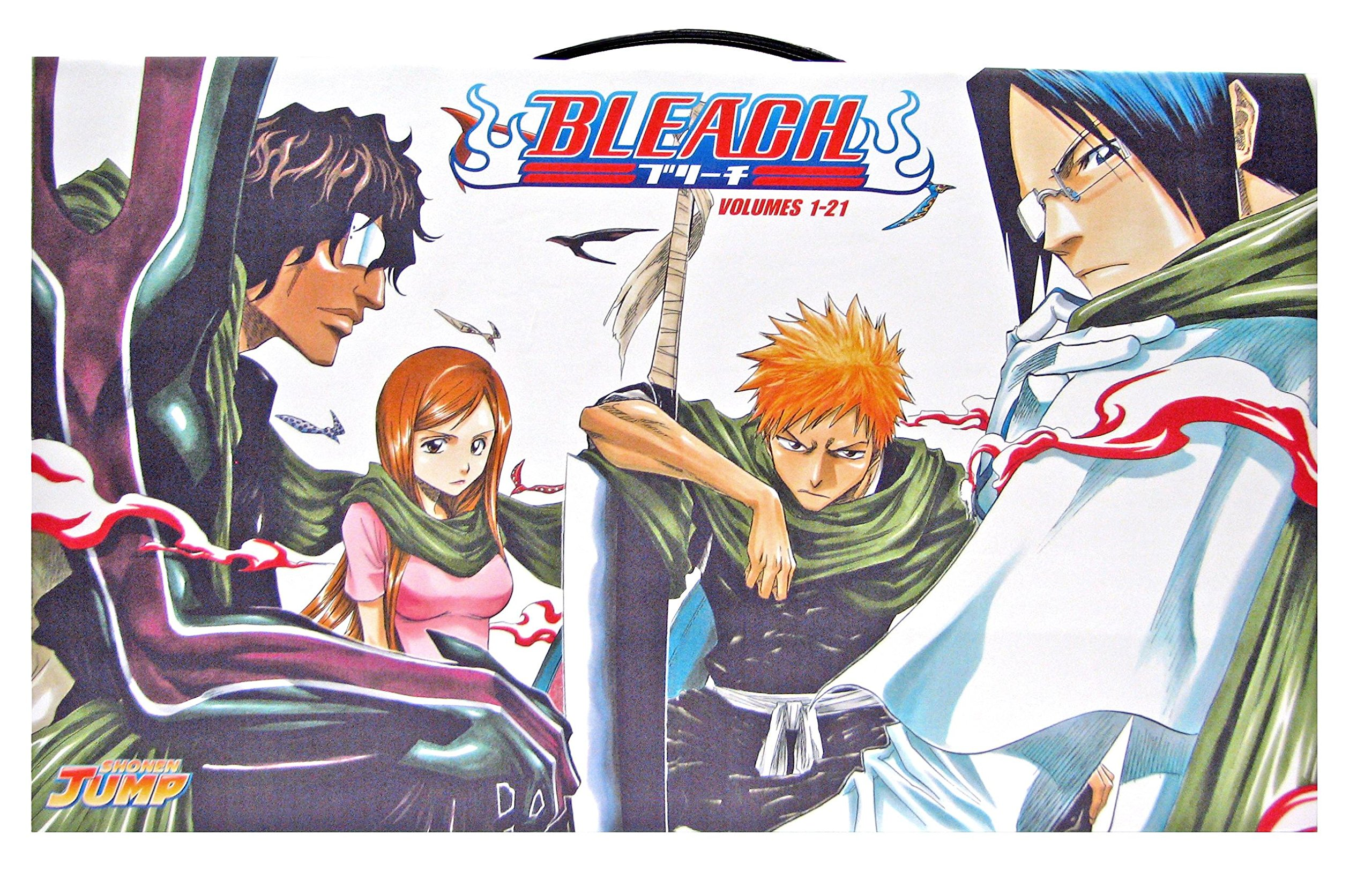 Bleach box set 1 volumes 1 21 amazon co uk tite kubo 9781421526102 books