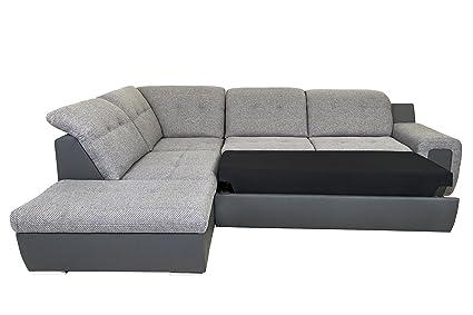 Amazon.com : VVRHomes Galaxy B Left Corner Sectional Sofa ...