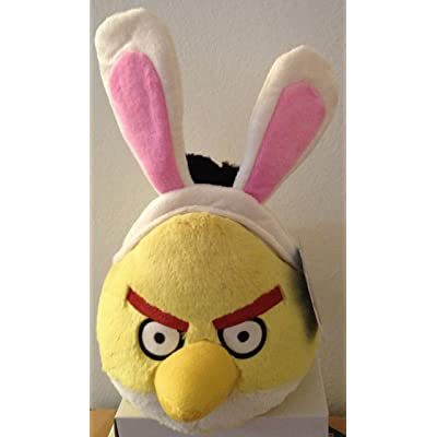 Angry Birds Easter 5 Inch DELUXE Plush Yellow Bird: Toys & Games