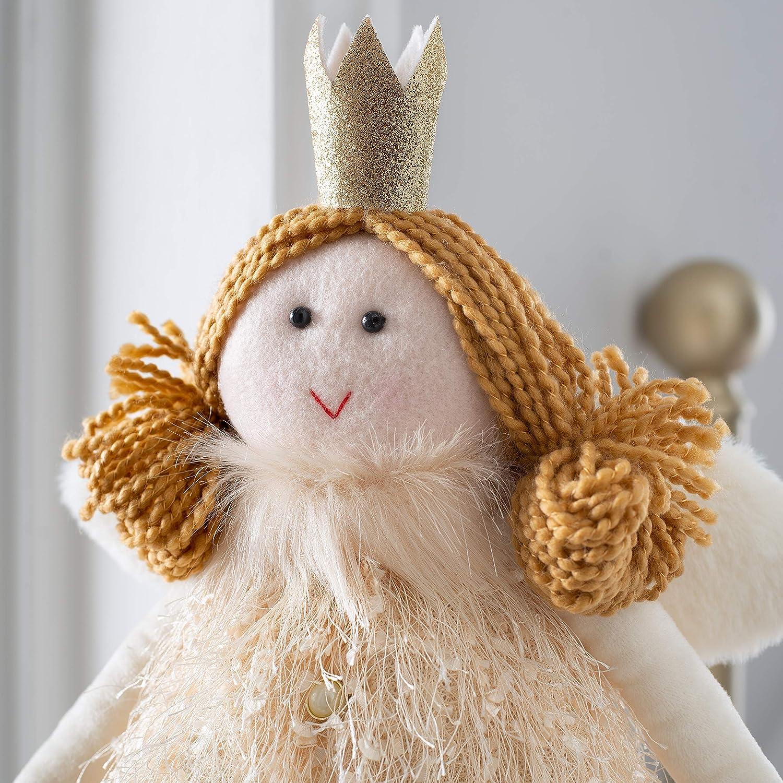 WeRChristmas Christmas Fairy Figuring with Adjustable Legs Multi-Colour 40-70cm