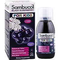 Sambucol Black Elderberry for Kids, 4 Ounce Bottle, High Antioxidant Black Elderberry Extract Syrup for Immune Support…