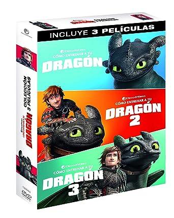 Pack 1 + 3: Cómo Entrenar A Tu Dragón [DVD]: Amazon.es: Jay Baruchel, America Ferrera, F. Murray Abraham , Dean DeBlois, Jay Baruchel, America Ferrera, DreamWorks Animation: Cine y Series TV