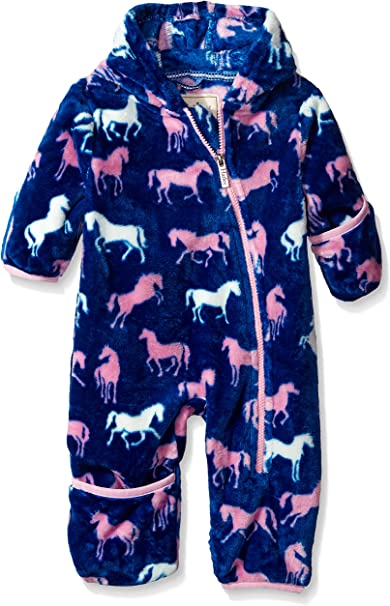 Amazon.com: Hatley traje enterito para nena de tela polar ...