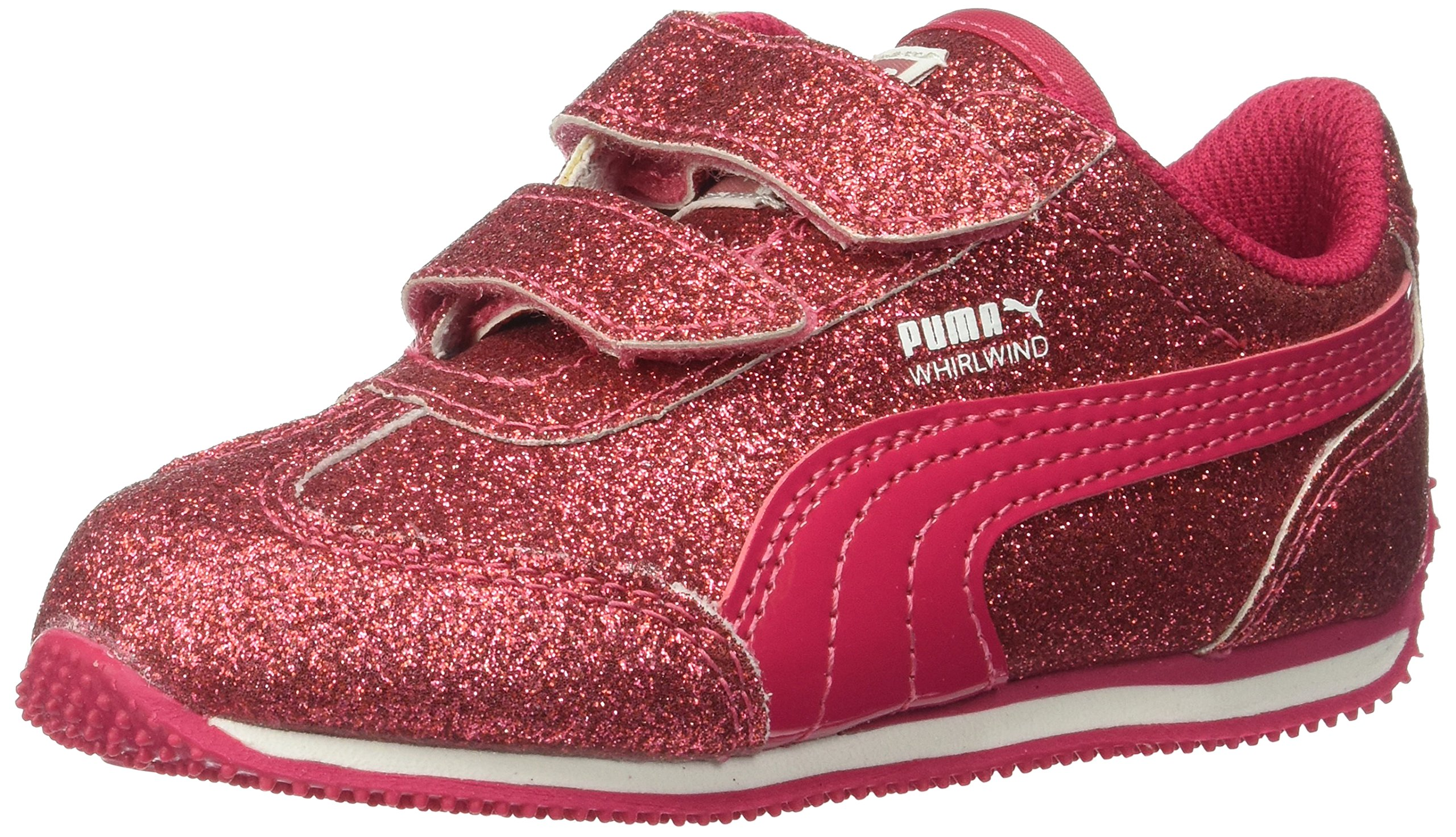 PUMA Baby Whirlwind Glitz V Kids, Love Potion-Love Potion, 6 M US Toddler