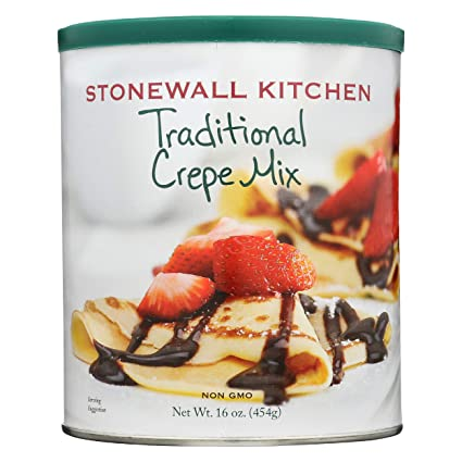 Amazon Com Stonewall Kitchen Traditional Crepe Mix 16 Ounce Pancake And Waffle Mixes Grocery Gourmet Food,10 Year Wedding Anniversary Cake