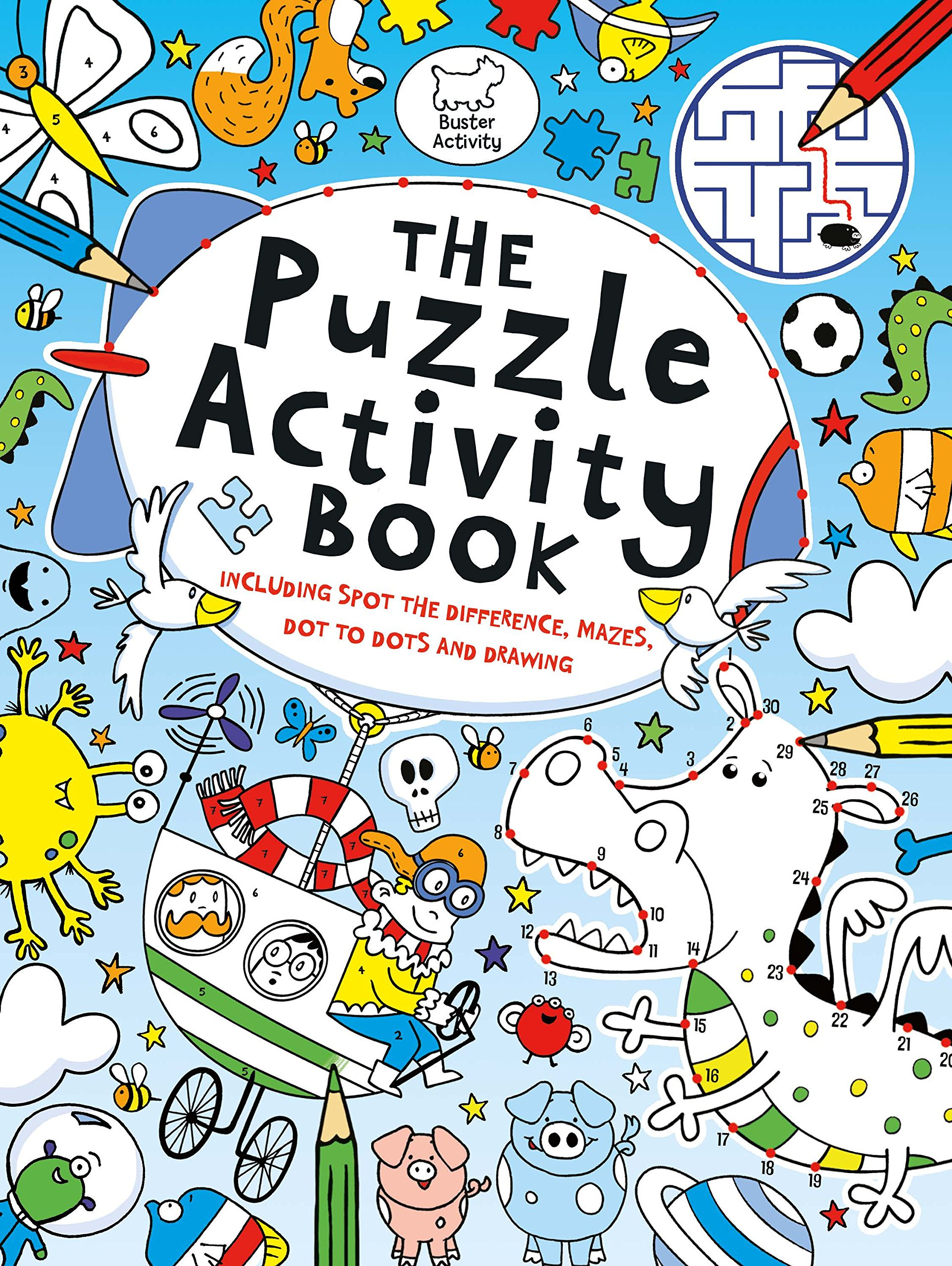 The Puzzle Activity Book (Buster Puzzle Activity) [Idioma Inglés]