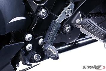 Protector negro para palanca de cambio de moto PUIG 5248 N: Amazon.es: Coche y moto