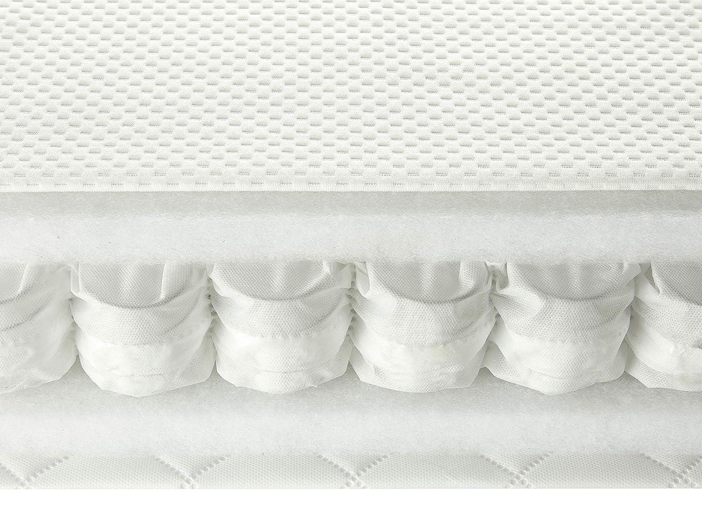 Luxuri/öse Taschenfederkernmatratze f/ür Babybett 60 x 120 m aus Actipro Komfortstoff