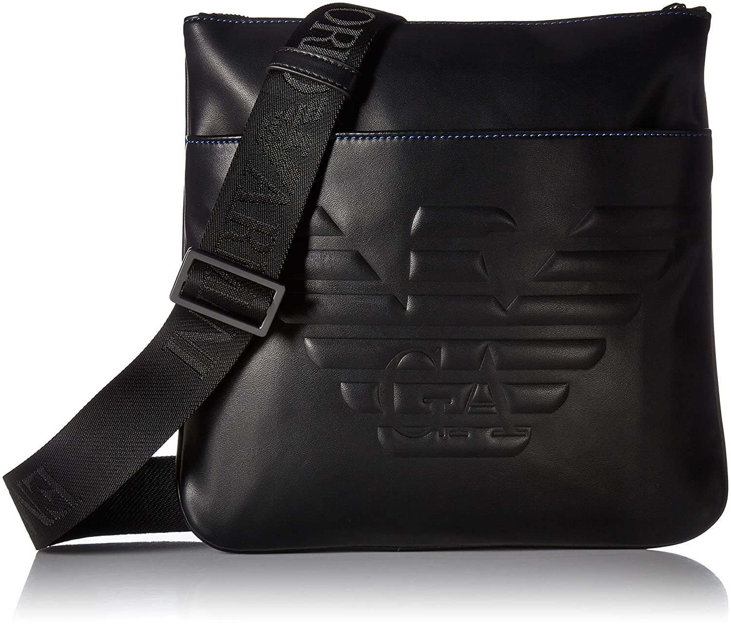 b529edfcc7676 Emporio Armani Messenger Bag with Front Pocket