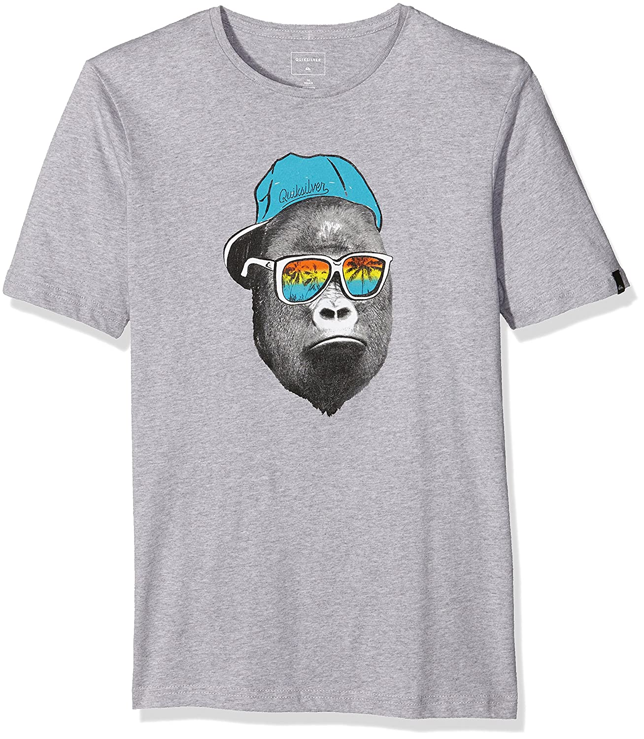 Quiksilver SS ClassicYouth Kong Business - Children's T-Shirt, SS ClassicYouth Kong Business grey EQBZT03354-SGRH-S/10