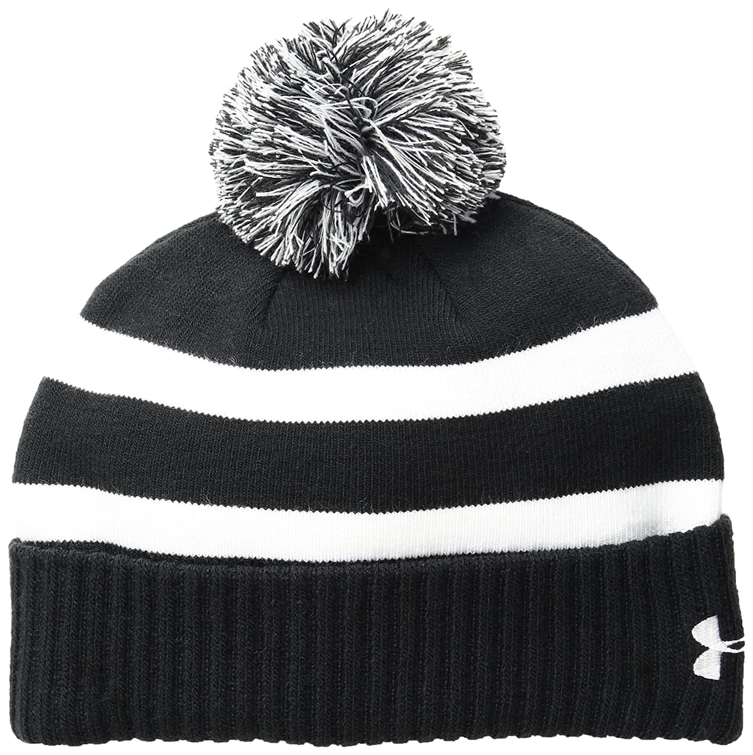 337dd6d4c54 Amazon.com  Under Armour Boys Pom Beanie