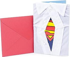 Hallmark Signature tarjeta de felicitación de cumpleaños para él (coche clásico), Superman Silhouette
