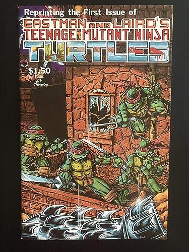 Teenage Mutant Ninja Turtles #1 1984 4th print Mirage Comic ...