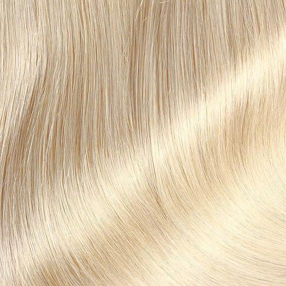 Hair2Heart 50 x 0.5g Extensiones de Queratina - 60cm - Liso, Color 20 Cenicienta es Rubia: Amazon.es: Belleza