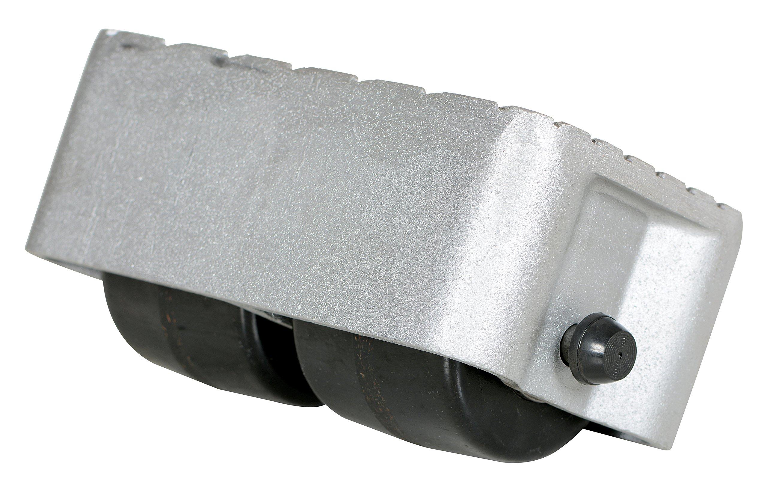 Vestil VPRDO-2 Cast Aluminum Propel Dolly, 3000 lbs Capacity, 8-1/2'' Length x 4-3/4'' Width Deck, 4-1/4'' Overall Height by Vestil (Image #2)