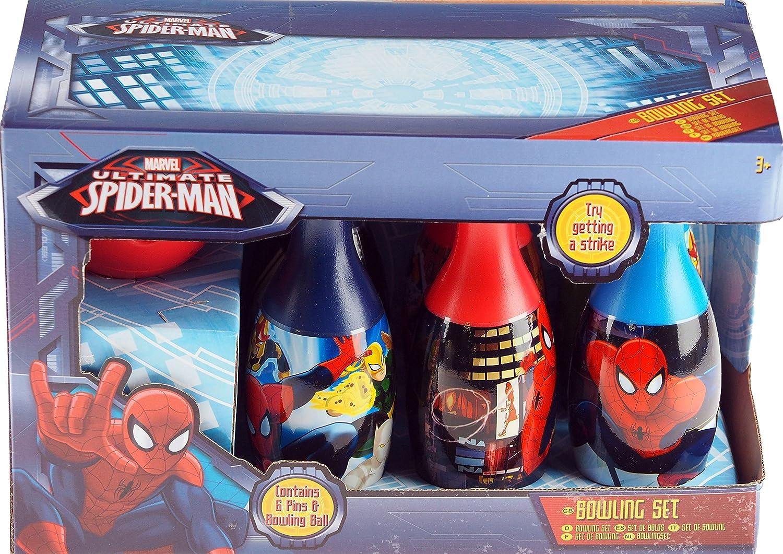 Marvel Spiderman Bolos diez pistas de bolos y pelota de plástico ...
