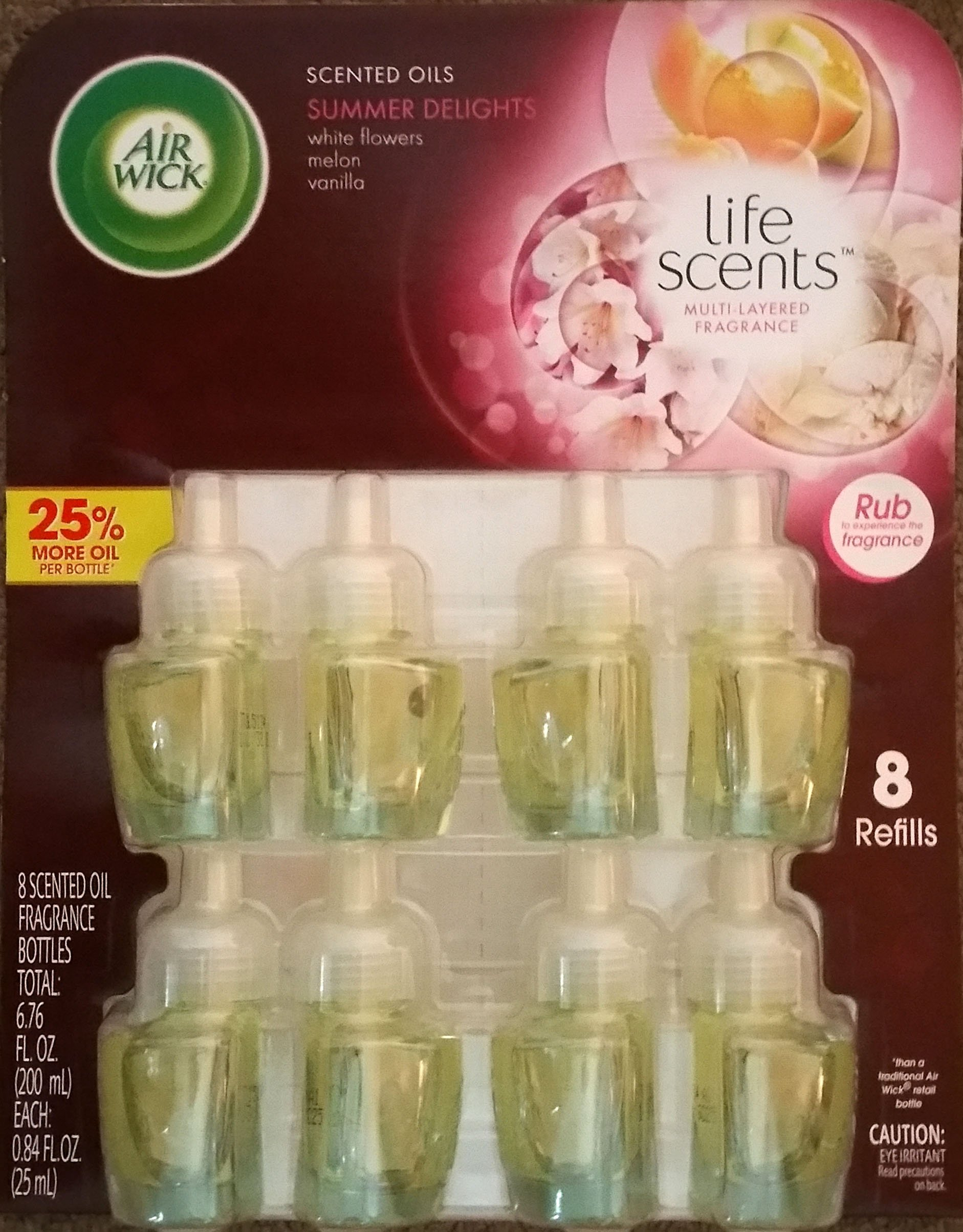 Air Wick Scented Oil Refills Life Scents Collection - Summer Delights