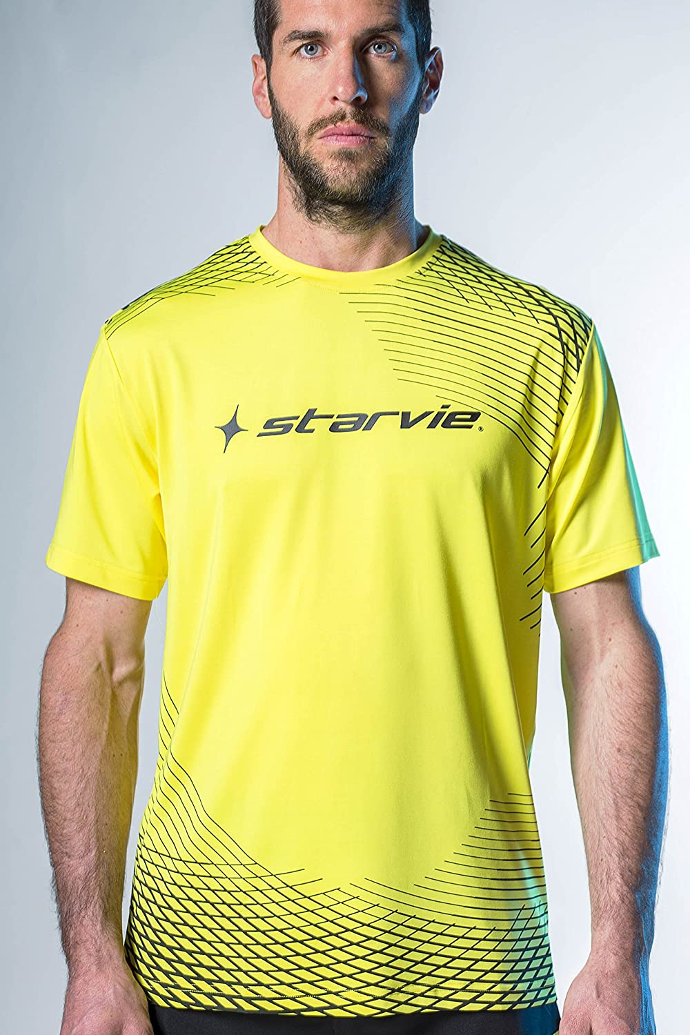 Camiseta padel StarVie Net Yellow (XL): Amazon.es: Deportes ...