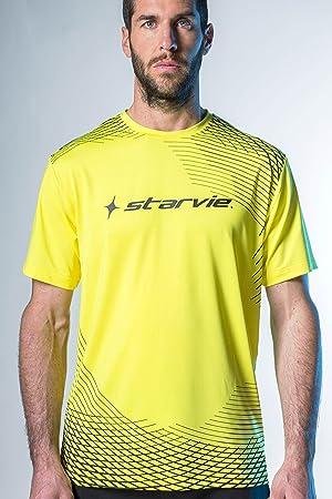 Camiseta padel StarVie Net Yellow (XL): Amazon.es: Deportes y aire ...