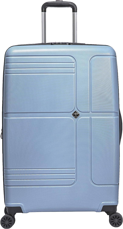 Valise Moyenne Taille Rigide 65 cm Extensible l/éger Trolley Grande capacit/é 100/% ABS 4 Roues Doubles