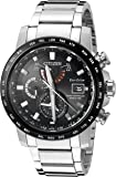 Citizen Men's 'World Time A-T' Quartz Stainless Steel Casual Watch, Color:Silver-Toned (Model: AT9071-58E)