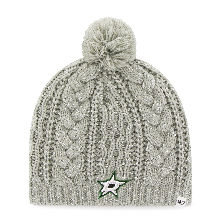 '47 Brand NHL Women's Kiowa Beanie Knit Hat One Size Gray Twins Enterprise/47 Brand NHL Women Kiowa Beanie Knit