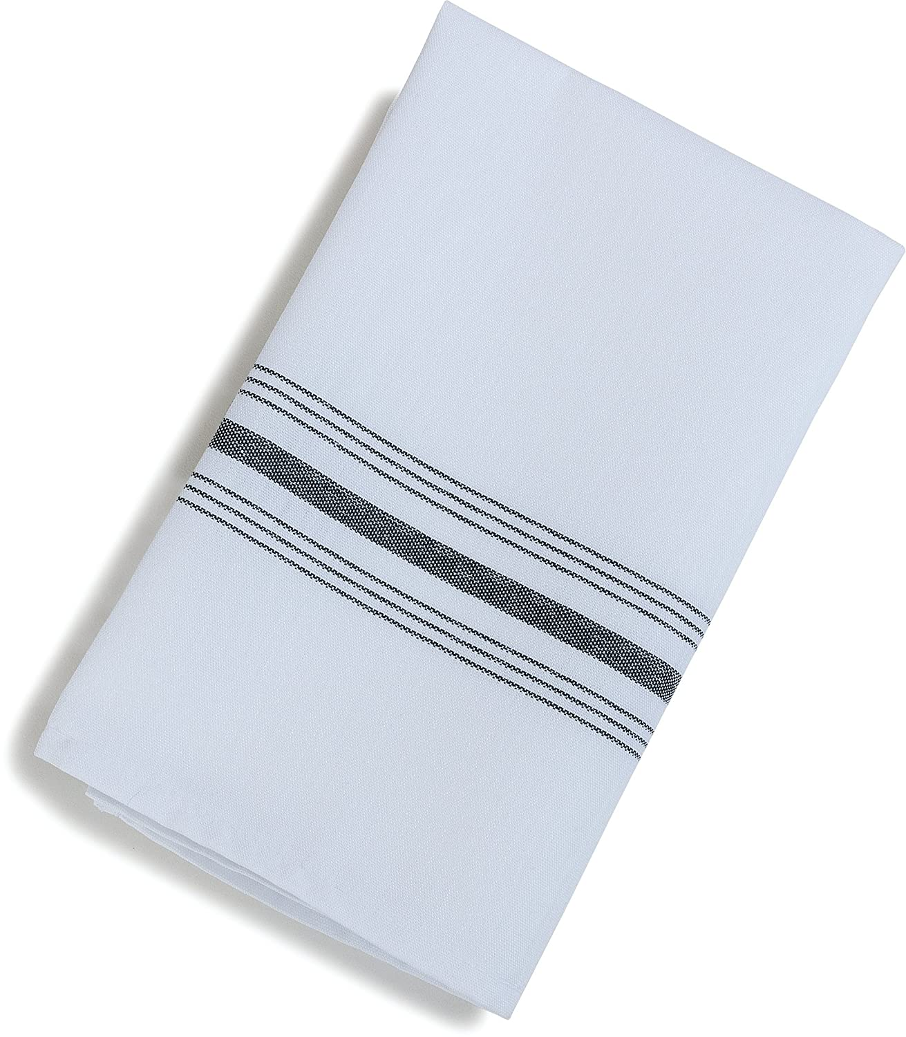 Carlisle 53771822NH052 Restaurant Quality Cloth Dinner/Bistro Napkins, 18-Inchx22-Inch, Purple Stripe, 12-Pack