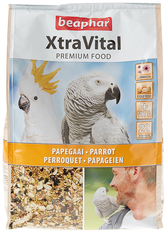 Beaphar XtraVital/Alimentation Premium pour Perroquet 500 g BEA16302//BEA16244