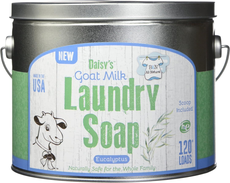 Brooke & Nora at Home, Goat Milk Laundry Soap, Eucalyptus, 120 Loads