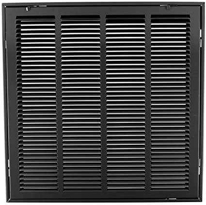 """20"""" x 20 steel return air filter grille for 1"""" filter - removable ..."""