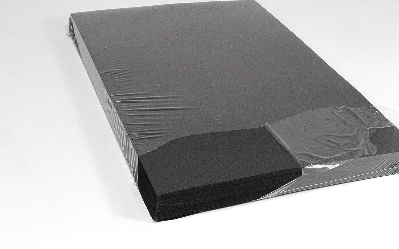 A2 Tonpapier, SPARPACK 250 Bogen in schwarz, 140 g/m² sehr stabil 140 g/m² sehr stabil Seawhite
