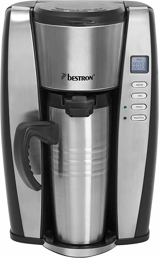 Bestron ACUP650 - Cafetera individual, 650 W, color negro y ...