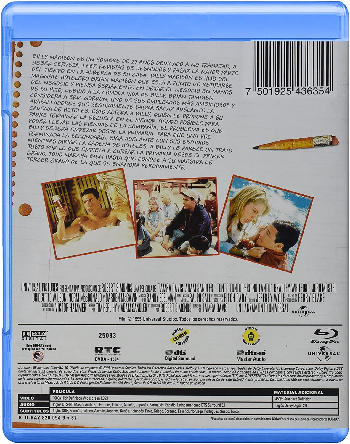 billy madison pelicula completa latino
