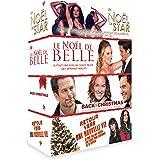 Coffret 4 DVD noël : le noël de belle + retour vers une nouvelle vie + un noël de star + back to christmas