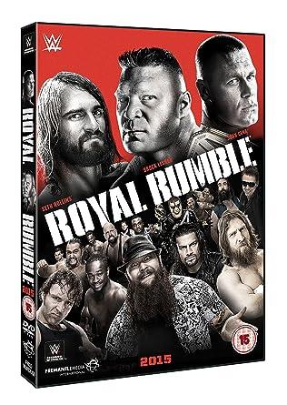 WWE: Royal Rumble 2015 [DVD] [Reino Unido]: Amazon.es: Brock Lesnar, John Cena, Seth Rollins, Brock Lesnar, John Cena: Cine y Series TV