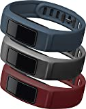 Garmin vίvofit 2 Wrist Bands (Burgundy/Slate/Navy)